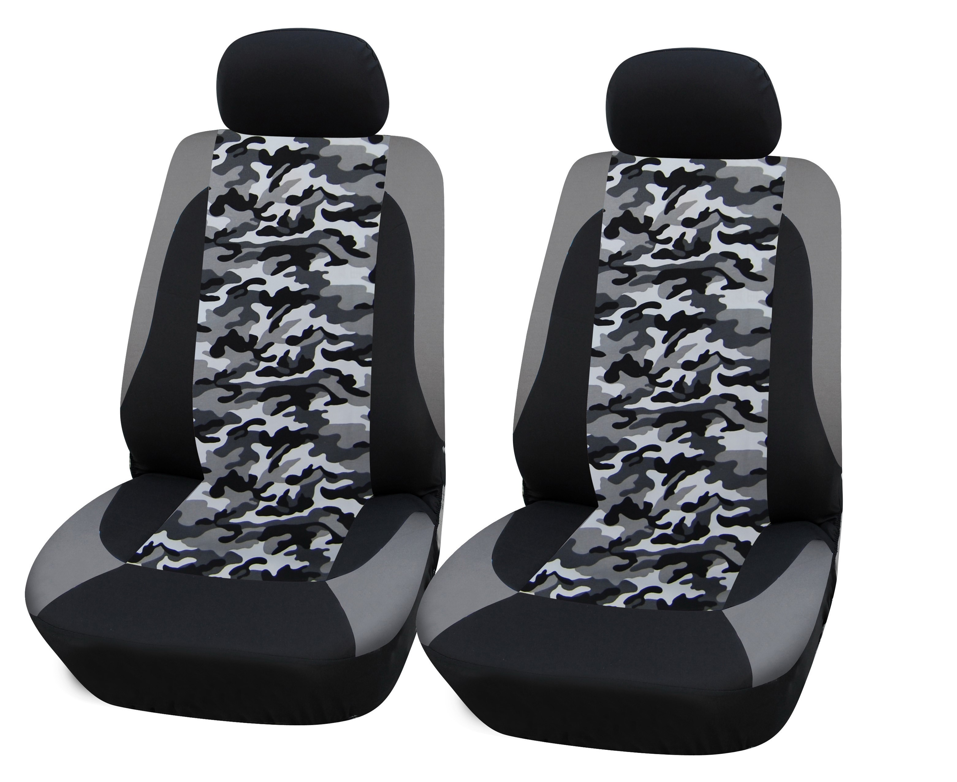 Universal Car Seat Cover Camouflage Four Pieces Carbest America Corp